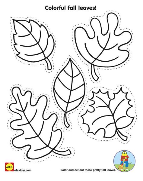 fall coloring pages for preschoolers fall leaves coloring pages for preschoolers