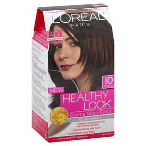 healthy look hair color l oreal healthy look hair dye creme gloss color cool