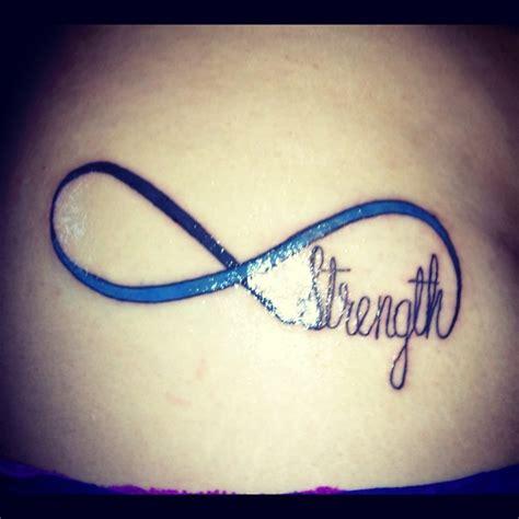 infinity tattoo strength infinite strength tattoo sick tattoos pinterest
