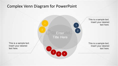 powerpoint venn diagram intersection overlapping sets venn diagram for powerpoint slidemodel