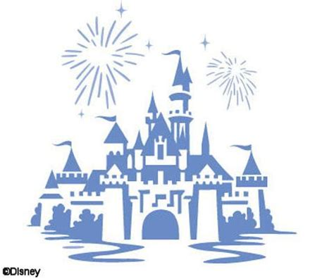disney castle stencil simple disney castle stencil