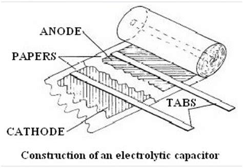 electrolytic capacitor construction suntan construction details of a aluminum electrolytic capacitor production process