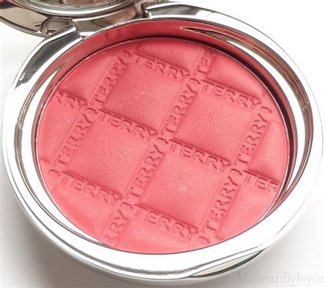 by terry blush terrybly ultimate radiance blush free makeupbyjoyce review swatches by terry blush