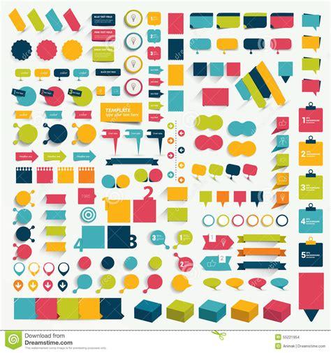 banners flat design elements vector 18 infographics royalty free cartoon cartoondealer com