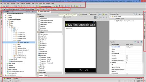 android studio tutorial rest api basic information about project structure and android
