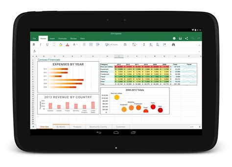 excel for android microsoft releases word excel and powerpoint for android tablets out of preview venturebeat