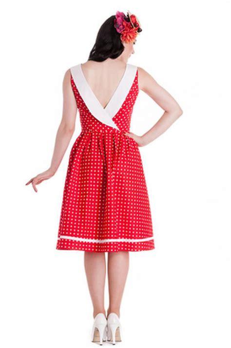 hell bunny swing dress hell bunny karen red polka dot swing dress