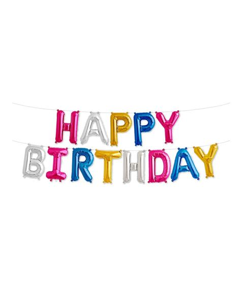 Banner Hbd mylar 16 quot happy birthday balloon banner