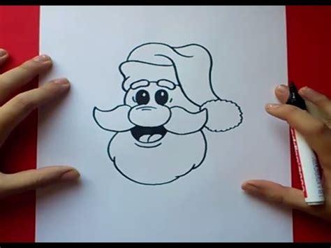 imagenes de santa claus para hacer como dibujar a papa noel paso a paso how to draw santa