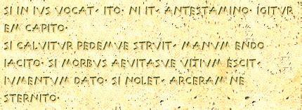 le 12 tavole romane leggi xii tavole