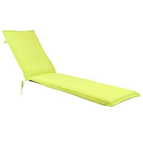 cushion for garden patio sun lounger sunbed green grey