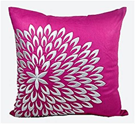 Magenta Throw Pillow by Decorative Pillow Cover Throw Pillow