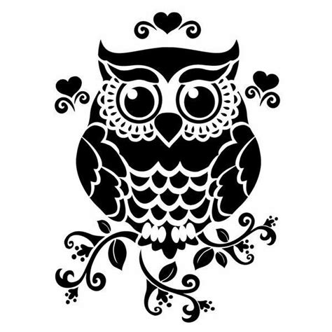 printable owl stencils 1133 best images about pisces the fish on pinterest