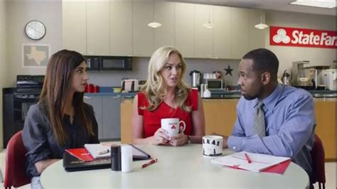 State Farm Commercial Actress Disappearing | state farm tv spot magic jingle disappearing agents