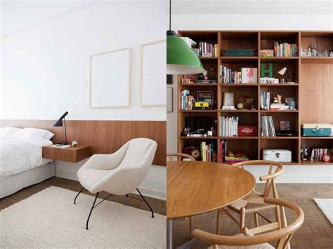 mid century style airy brazil apartment in mid century style digsdigs