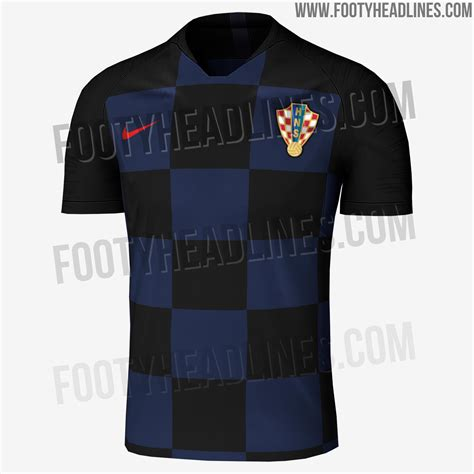 Jersey World Cup nike croatia 2018 world cup pre match jersey leaked