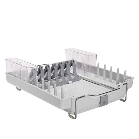 dish rack foldaway dish rack oxo