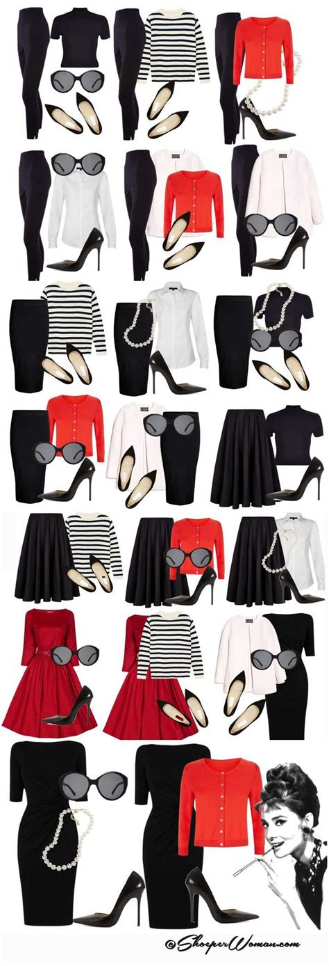 timeless fashion  outfit ideas ft audrey hepburn