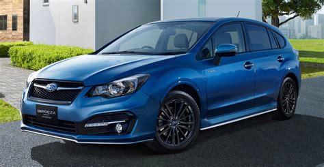 subaru hybrid sedan subaru impreza sport hybrid revealed ruled out for