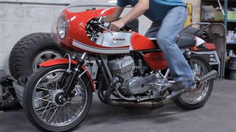 1976 Suzuki Gt500 Vintage Custom 1976 Suzuki Gt500 Cafe Racer Kick Start