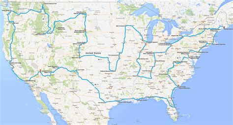 how to drive across the usa hitting all the major how to actually drive across the usa hitting all the major