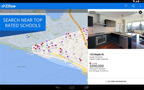 zillow real estate rentals screenshot