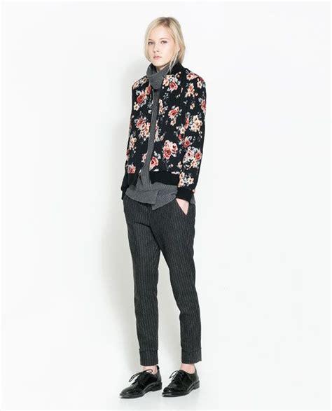 Zarra Bomber Jacket Kualitas Premium zara trf floral bomber jacket jackets jackets zara and this