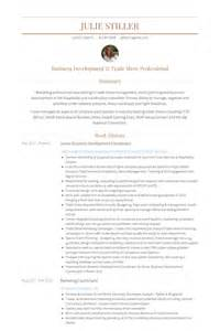 business development coordinator resume sles visualcv