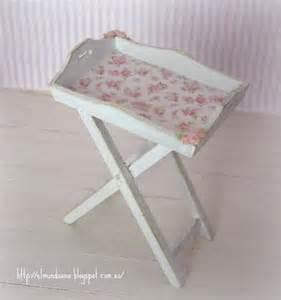 shabby chic trays shabby chic style tray scale 1 12 by mundorosa on etsy