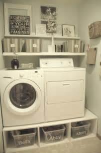 Storage Laundry Room Organization 30 Brilliant Ways To Organize And Add Storage To Laundry Rooms Diy Crafts