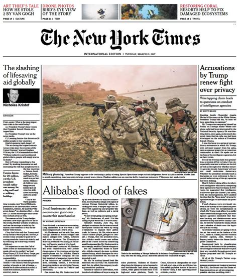 Pdf New York Times Archives Free by International New York Times 21 03 17 Pdf Free