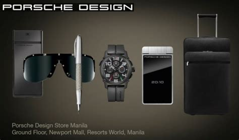 porsche design home products porsche design luxury men s wear pinoy guy guide