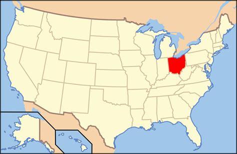 usa map ohio file map of usa oh svg wikimedia commons