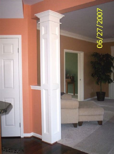 interior column designs interior columns as interior columns custom trim