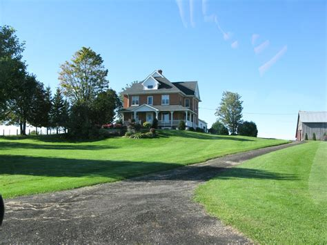 panoramio photo of beautiful farm home in grey county