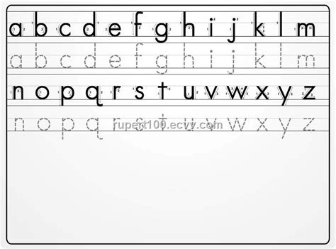 learning to write alphabet templates writing the alphabet yourhelpfulelf