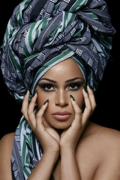 wrap hairstyles for african american women love african hair wrap look all things hair nails and