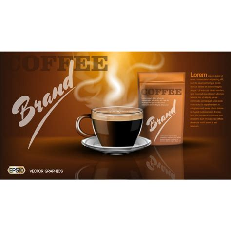 coffee shop brochure template coffee brochure template vector free