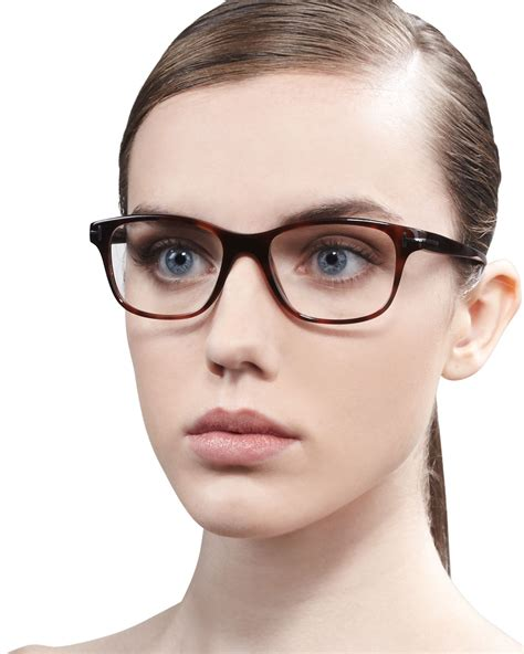 Tom Ford 2 lyst tom ford unisex semirounded square fashion glasses in black