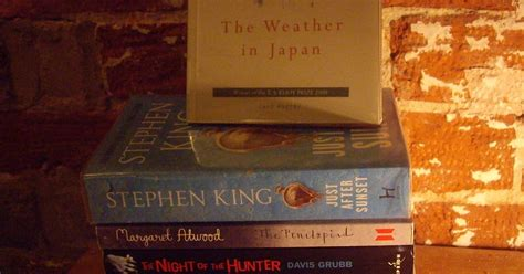 just after sunset stories books gardening leave book spine poetry just the sunset and