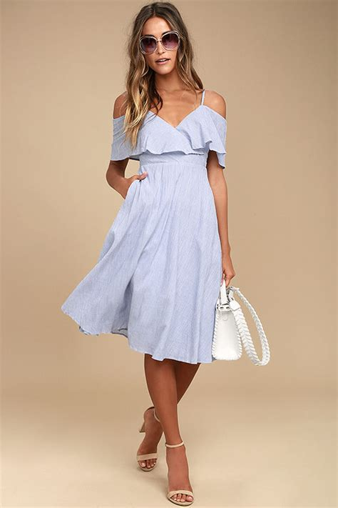 Dress Yachtien blue and white dress striped dress the