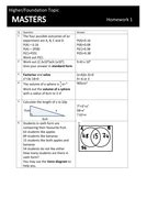 GCSE Maths 9-1 Revision Masters by mikecraven | Teaching