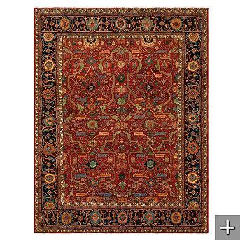 Gabrielle Persian Style Rug Pottery Barn Pottery Barn Gabrielle Rug