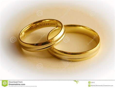 Two Wedding Rings by Two Wedding Rings Stock Photography Image 23912