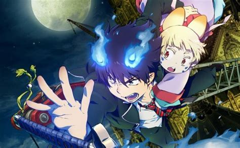 blue trailer eng blue exorcist the trailer released capsule