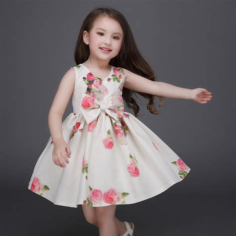 New Import Dress Princess Anak 2016 new children clothes 3 13 year dresses