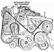 Serpentine Belt Diagram 1998 Chrysler Town And Country 3