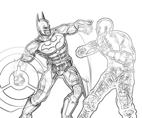 batman arkham coloring pages