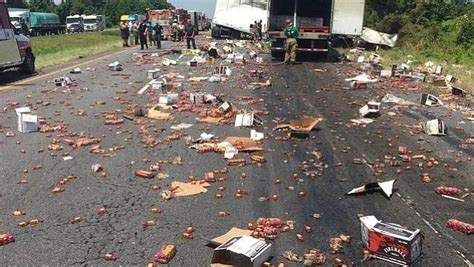 monster truck show little rock ar trucks collision in arkansas causes fire and spills