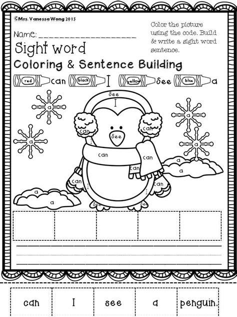 Kindergarten Sentence Building Worksheets by 17 Best Ideas About Sentence Building On